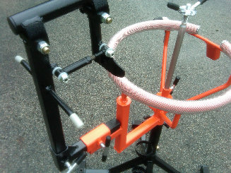Dirt Bike Tire Changing Stand With Bead Breaker Tusk
